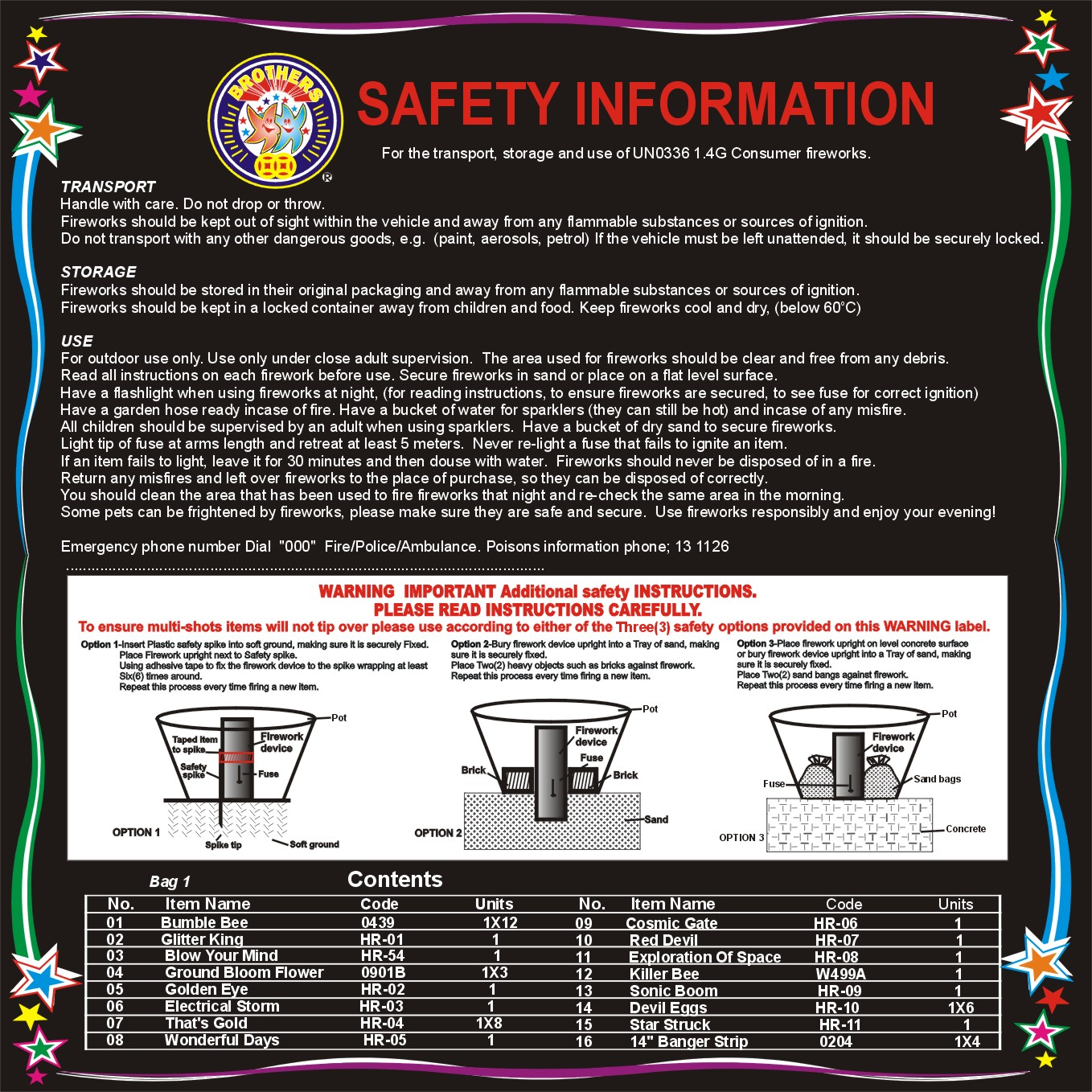 SAFTY GUIDELINES